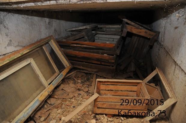 Подвал в Туле