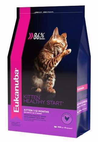 Eukanuba Kitten Complete сухой корм для котят, курица/печень 400 гр