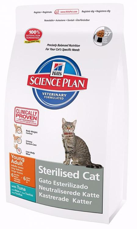 Hills для стерилизованных кошек, тунец 8 кг