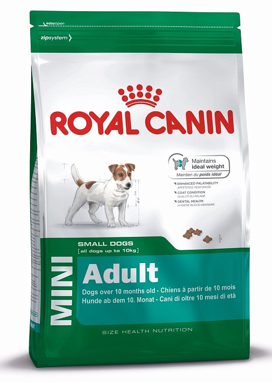 Royal Canin Mini Adult 27 сухой корм для собак мелких пород 2 кг