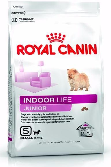 Royal Canin Mini Indoor Life Junior сухой корм для щенков мелких пород, 500 г