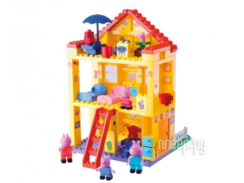 Конструктор Big Любимый дом Peppa Pig 57078