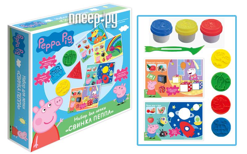 Набор для лепки РОСМЭН Peppa Pig 30410